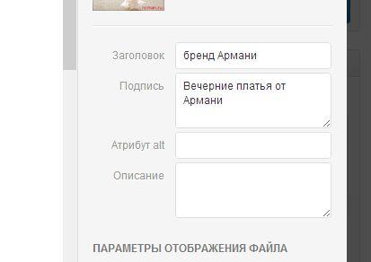Атрибут заголовка WordPress
