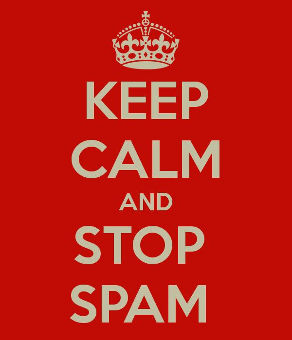 Успокойся и борись со спамом